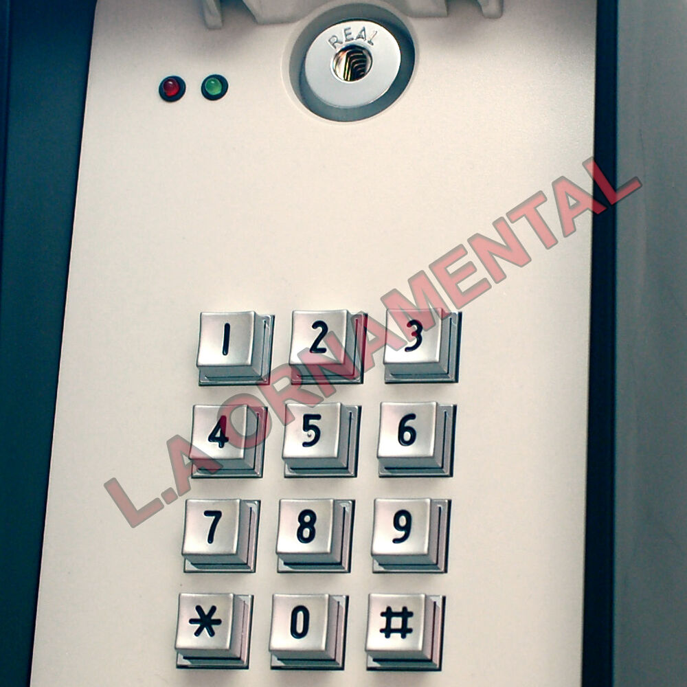 Wireless Wire Keypad Entry System 433 92 Mhz Garage Door
