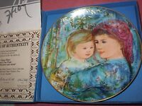 "HIBEL ""MICHELE AND ANNA"" 1991 MOTHER'S DAY PLATE"