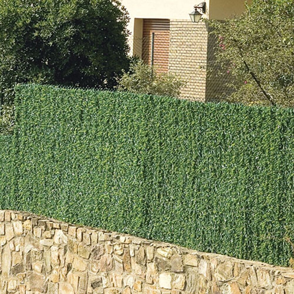 greenwitch artificial conifer hedge plastic privacy screen. Black Bedroom Furniture Sets. Home Design Ideas