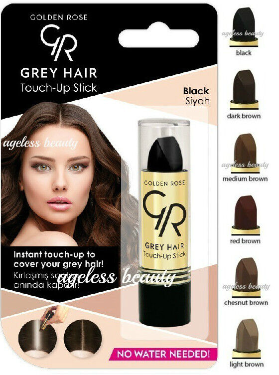 Gray Hair Touch Up Color Stick Grey Roots Cover Black Red