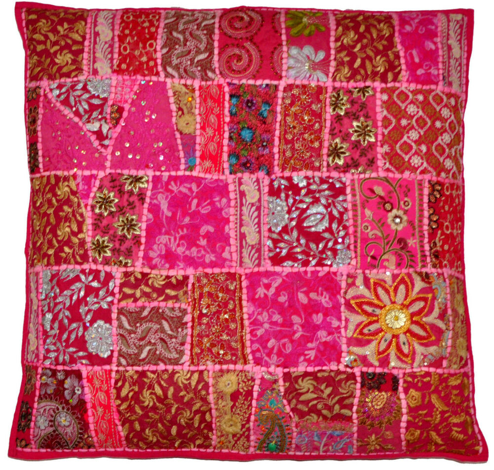 24 decorative vintage boho throw pillow embroidered accent outdoor sofa pillow ebay - What is a throw pillow ...