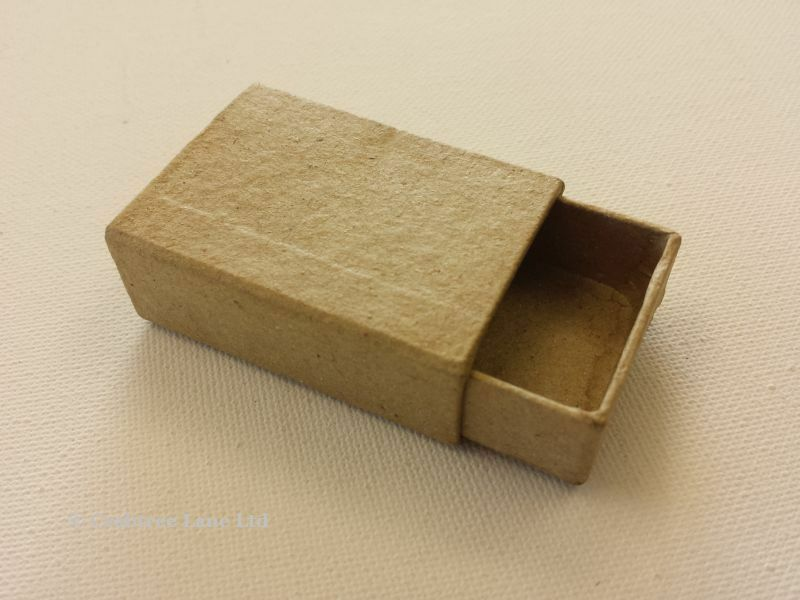 small match box plain cardboard matchbox mini craft