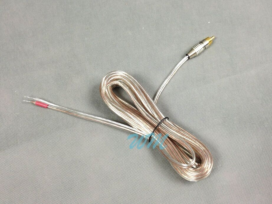 how to connect rca cable to speaker wire
