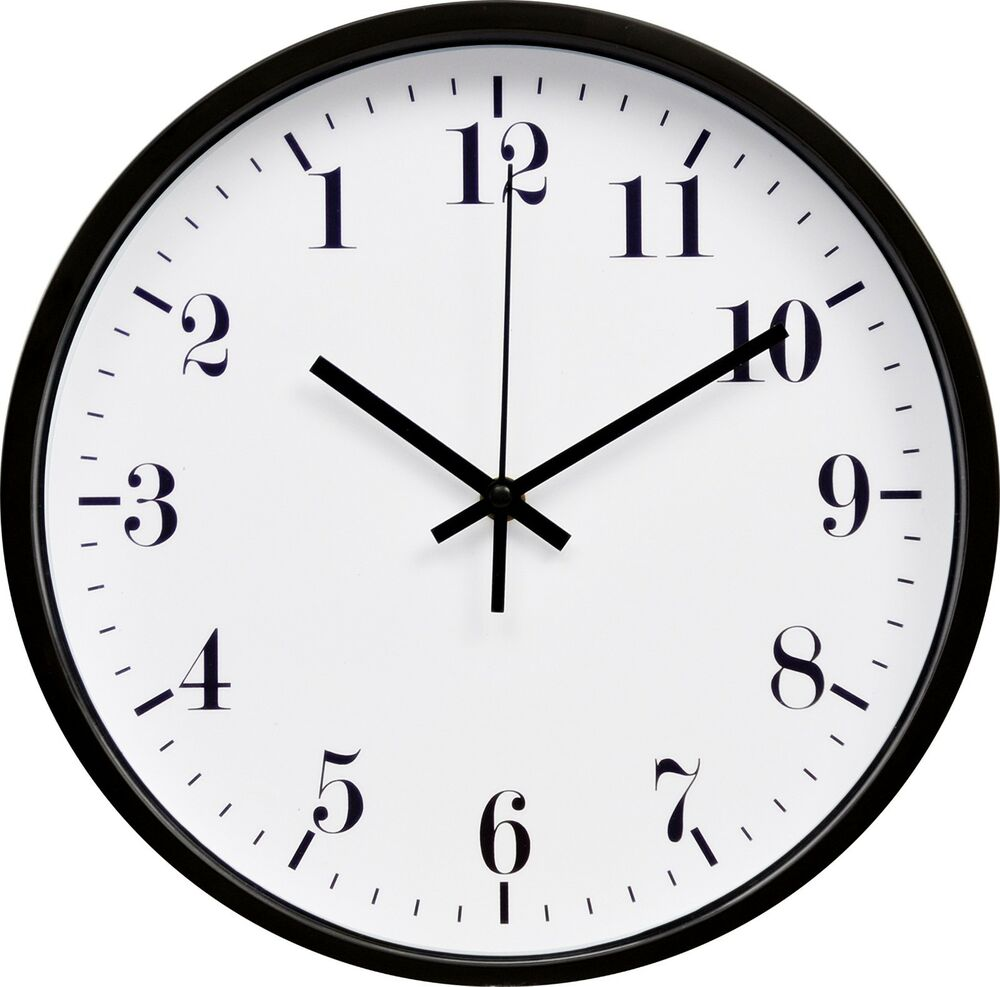 2 Types Of Backwards Reverse Wall Clocks 12 Inches Ebay