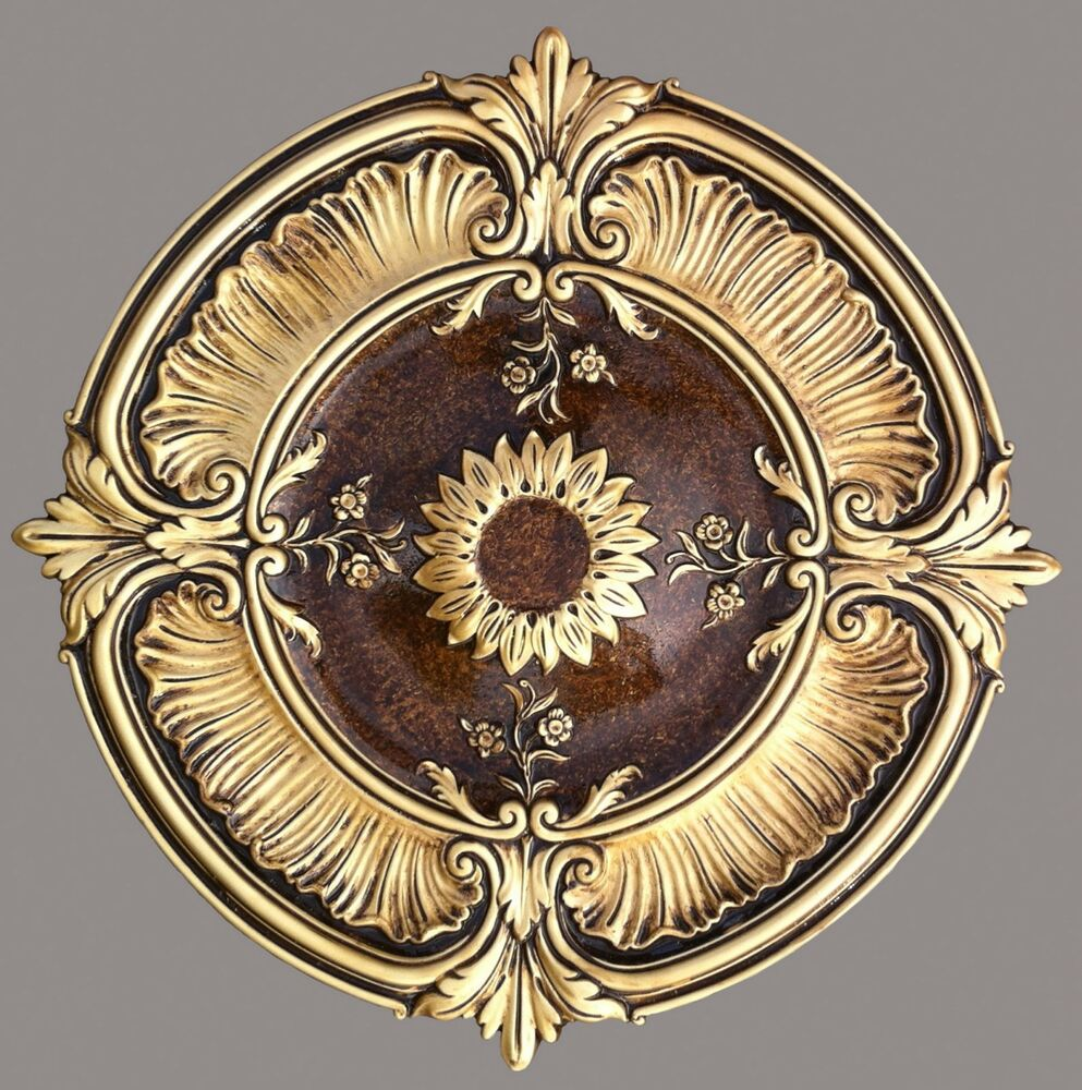Ceiling Medallion 30 Quot Attica Acanthus Leaf Lighting