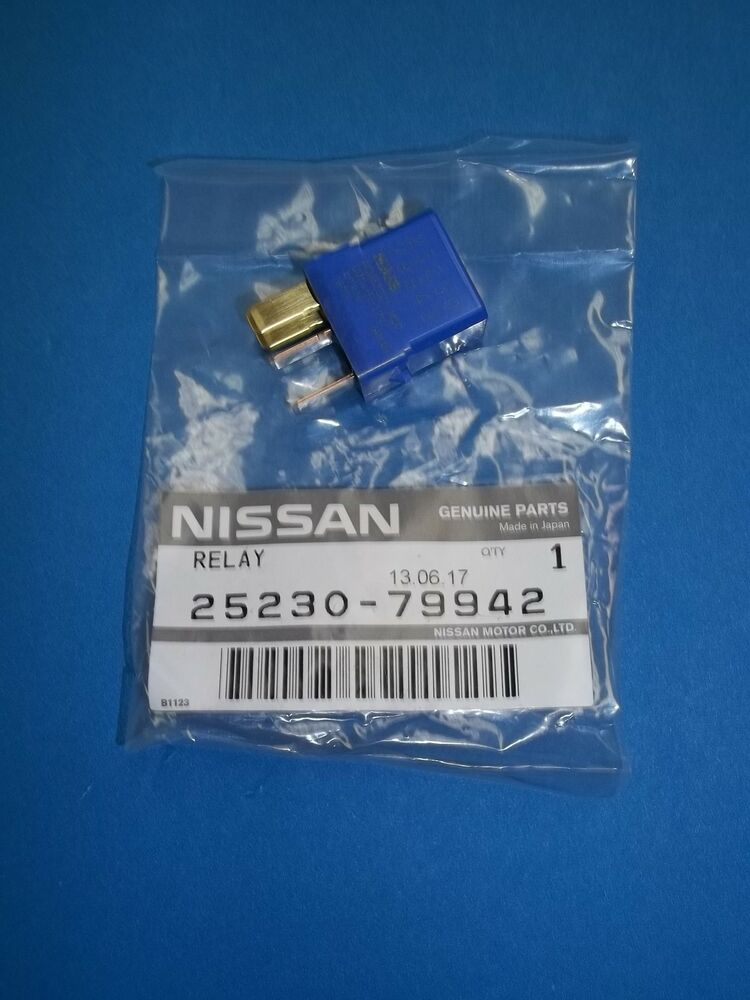 Nissan genuine relay 25230 79942 or 25230 79943 ebay for Nissan motor phone number