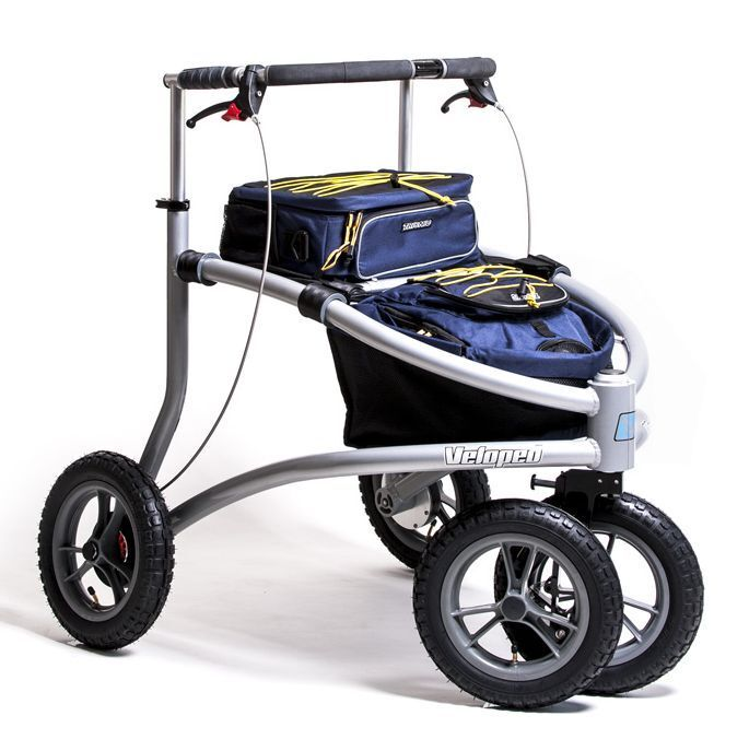 Trionic veloped trek mountain all terrain walker senior for Mobility walker