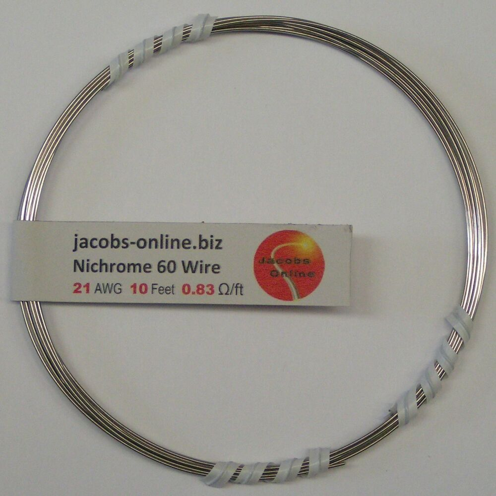 resistance of a nichrome wire coursework Current than a nichrome wire of the same size nichrome copper  the connection between current, voltage and resistance was discovered in 1827 by georg.