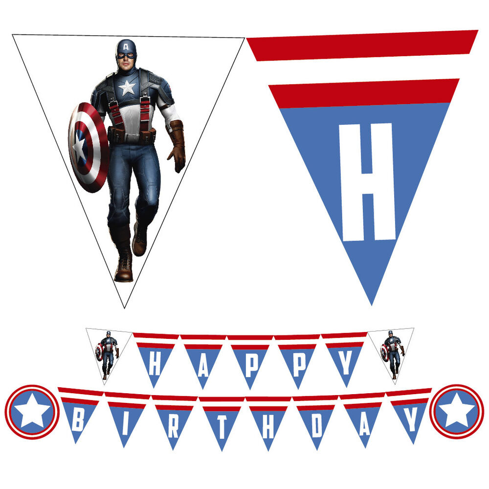 Happy Birthday Captain America Theme
