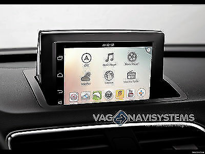 navegador audi a1 q3 t ctil radio rmc 6 5 7 android gps wifi 3g usb sd ebay. Black Bedroom Furniture Sets. Home Design Ideas