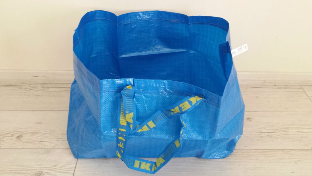 ikea tragetasche tasche frakta gro 71 liter volumen blau bis 25 kg neu ebay. Black Bedroom Furniture Sets. Home Design Ideas