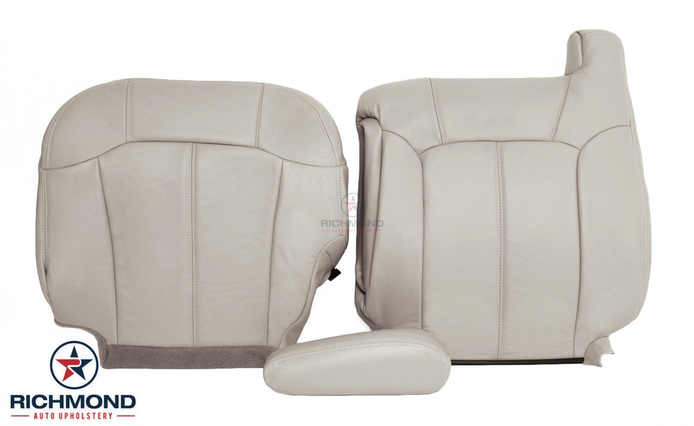 Gm Replacement Seat Covers : Chevy tahoe l v lt suv driver side complete