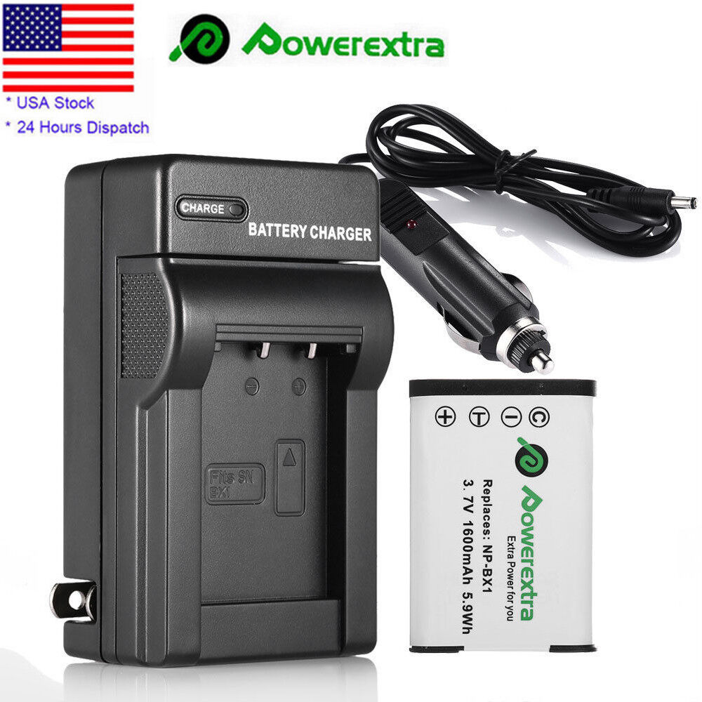 1600mah np bx1 battery charger for sony dsc rx100 hdr as10 hdr as15 hdr cx240 ebay. Black Bedroom Furniture Sets. Home Design Ideas