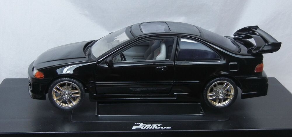 the fast and the furious 1995 honda civic diecast race car 1 18 scale ebay. Black Bedroom Furniture Sets. Home Design Ideas