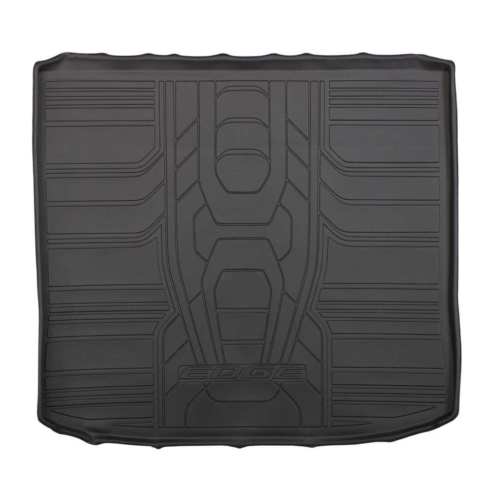 2015 2016 ford edge trunk cargo area protector liner mat black tray oem ebay. Black Bedroom Furniture Sets. Home Design Ideas