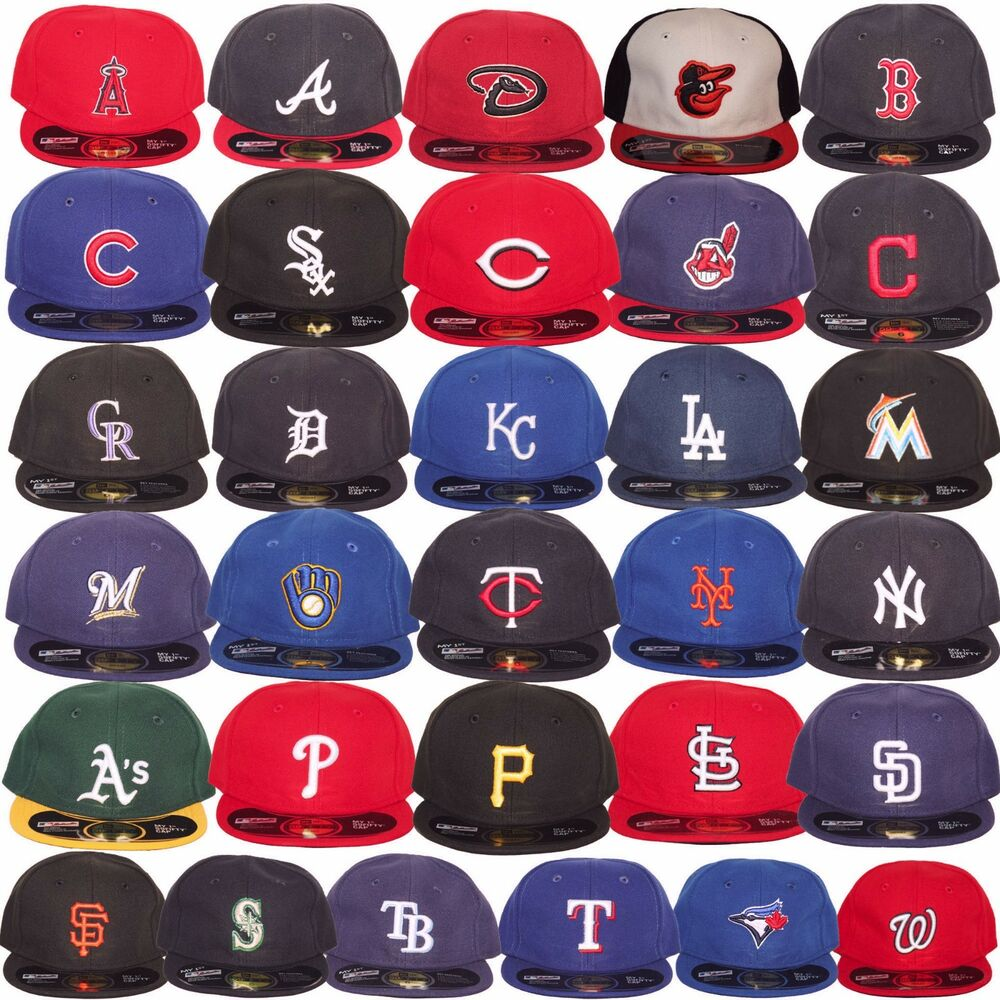 b4a2f15ff2b Details about New Era MLB Infants Newborn Baby My 1st 59Fifty 5950 Fitted Baseball  Cap Hat