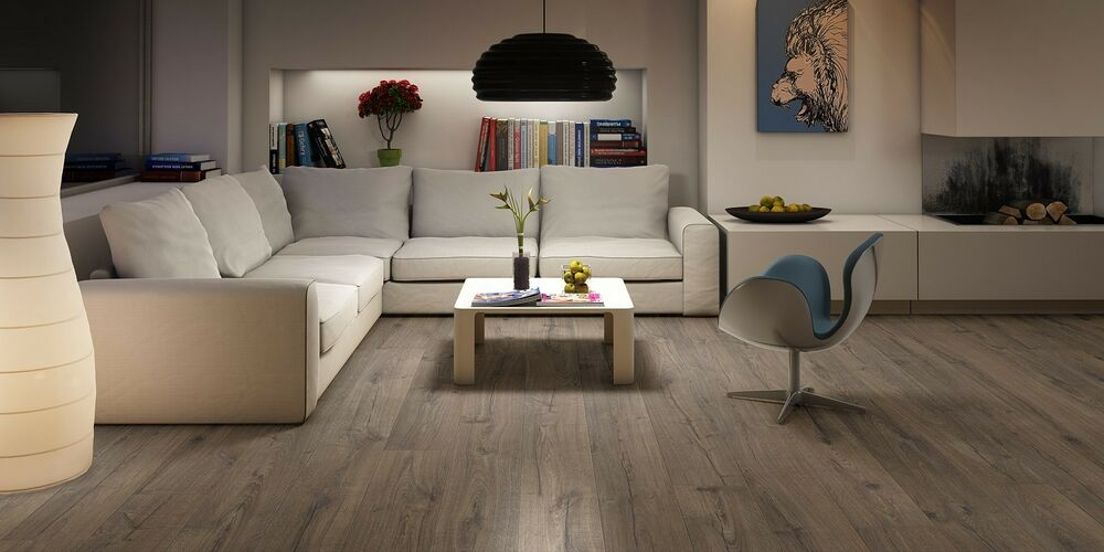 quickstep waterproof impressive classic oak brown im1849 laminate floor ebay. Black Bedroom Furniture Sets. Home Design Ideas