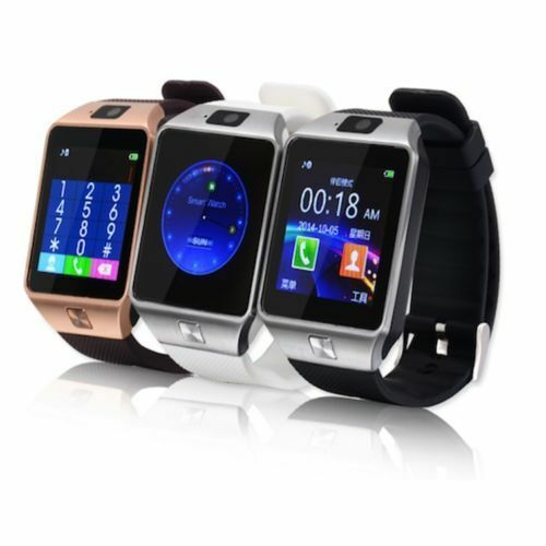 Camera Sim Card For Android Phones bluetooth smart watch phone mate gsm sim dz09 for iphone android samsung sony lg ebay