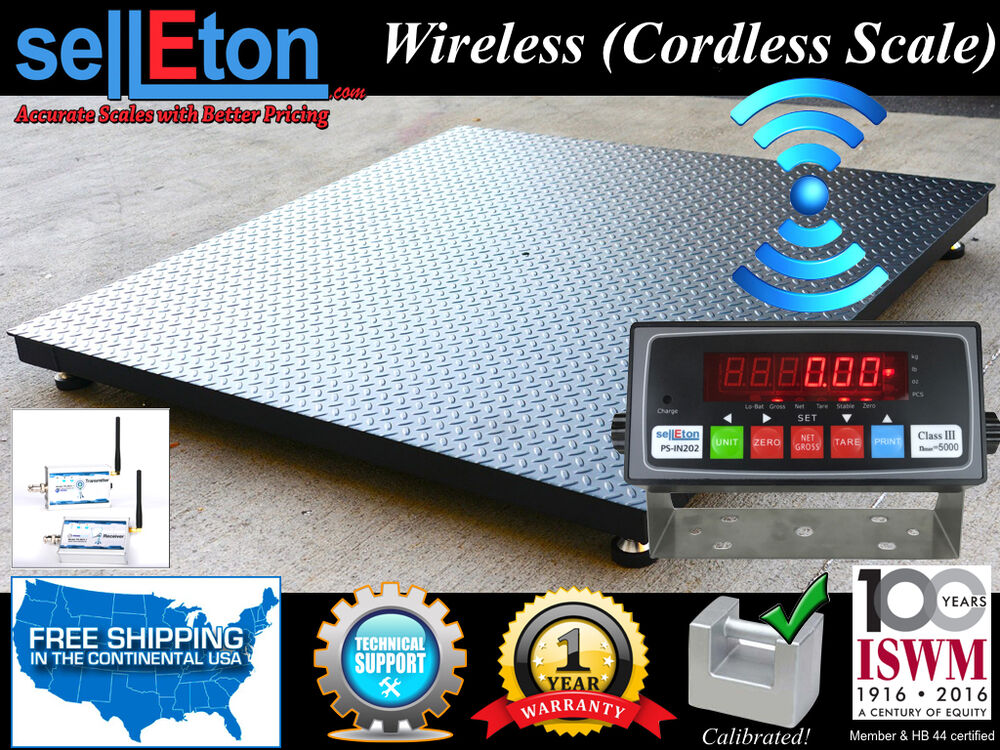 Floor scale pallet size 4 39 x 4 39 48 x 48 wireless for 1000 lb floor scale