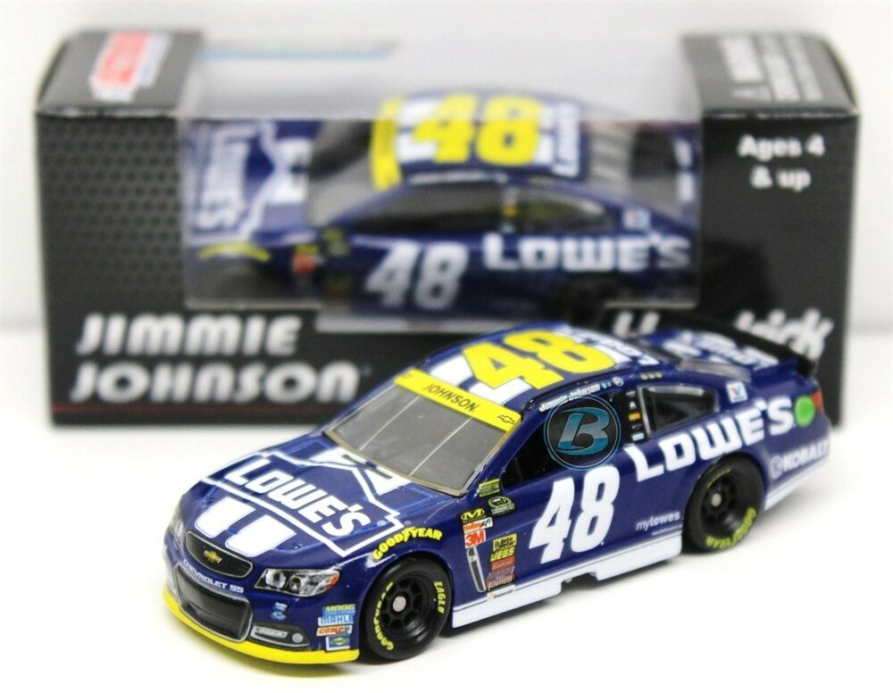 Jimmie Johnson Chevy >> Jimmie Johnson 2014 ACTION 1:64 #48 Lowe's Chase for the Sprint Cup Chevrolet SS | eBay