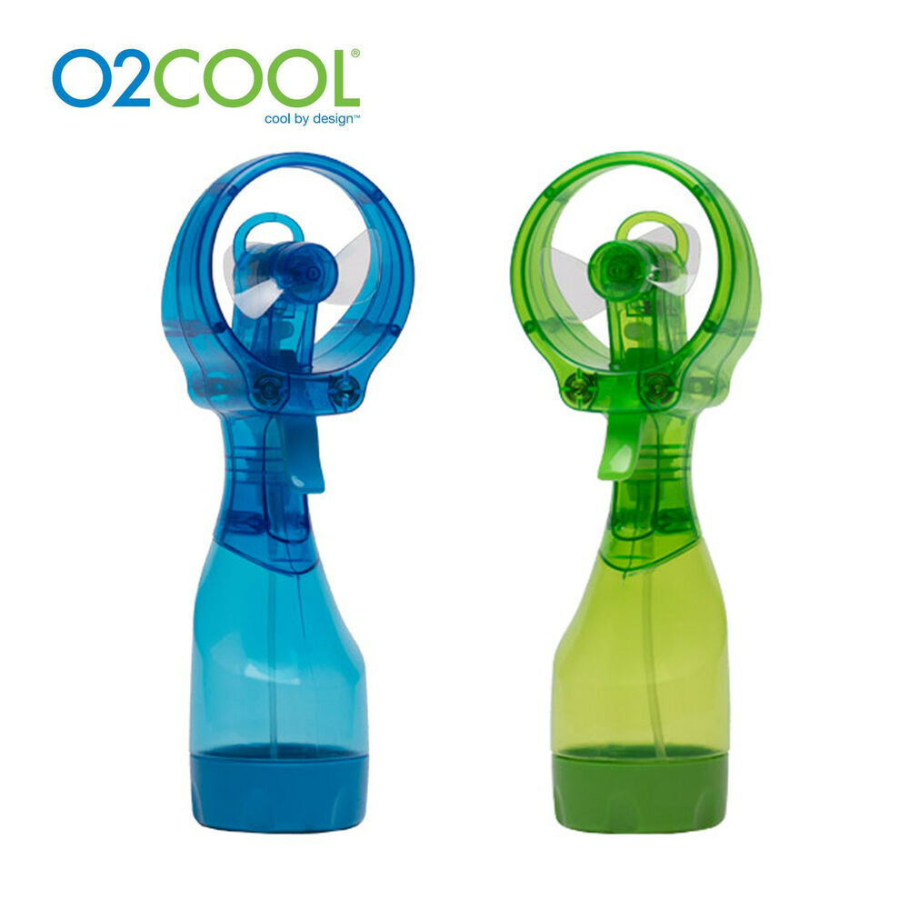 Genuine O2cool Deluxe Water Misting Fan Fml0001 Portable