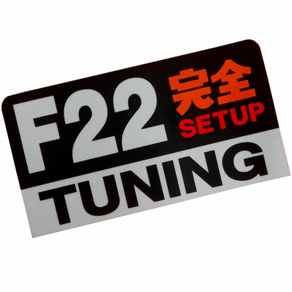 Details about f22 engine setup tuning racing 3m jdm stickers decals dash car prelude accord