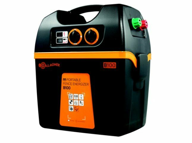 New Gallagher B100 Solar Powered Fence Charger Fencer