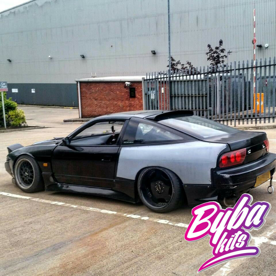 nissan 200sx s13 326 power roof spoiler 180sx 240sx rear. Black Bedroom Furniture Sets. Home Design Ideas
