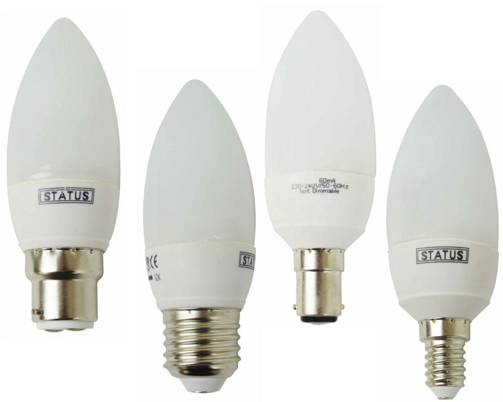 1 2 3 5 10 20 Candle Low Energy Cfl Power Saving Light Bulbs 5w 7w 11w Lamps Ebay