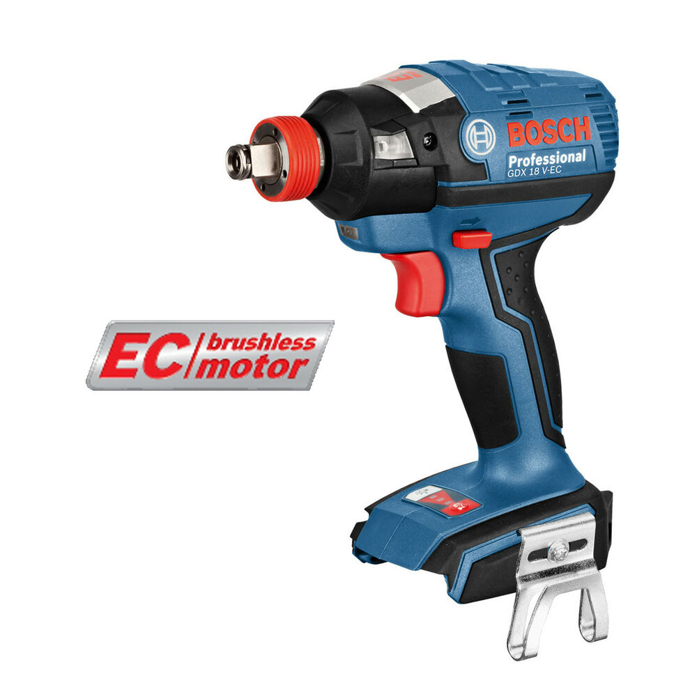 genuine bosch gdx 18v ec cordless brushless impact wrench driver body only ebay. Black Bedroom Furniture Sets. Home Design Ideas
