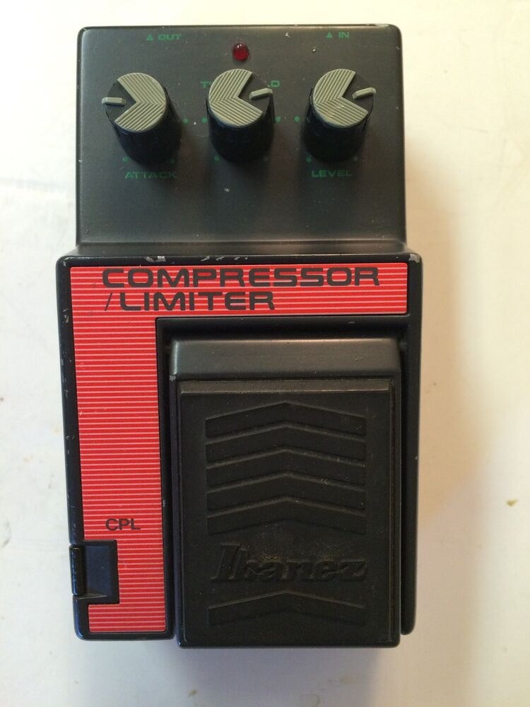 ibanez cpl compressor limiter rare vintage guitar effect pedal mij japan ebay. Black Bedroom Furniture Sets. Home Design Ideas