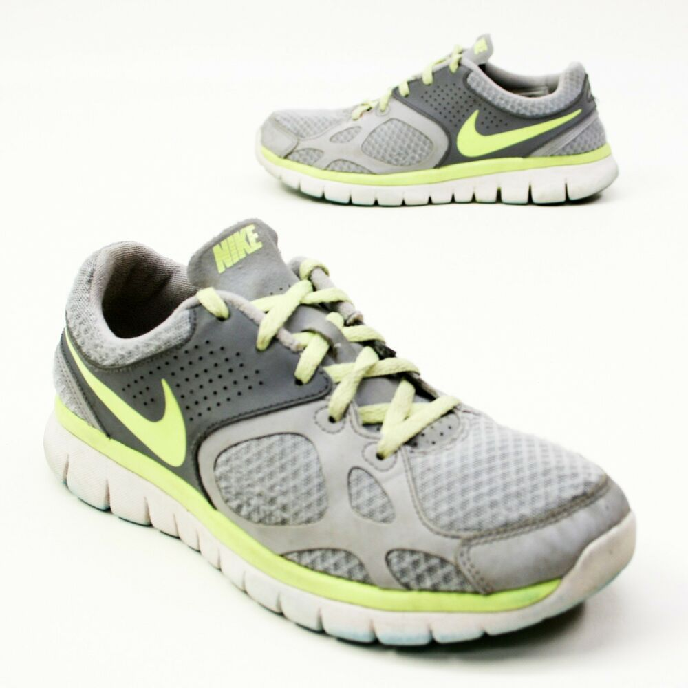 Nike Size 8 Women's Running Shoes 512108-003 Gray/Neon ...