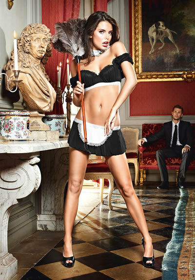 Hot French Maid