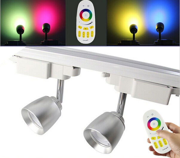 7w 2 4g Mi Light Color Dimmable Rgbw Led Track Light