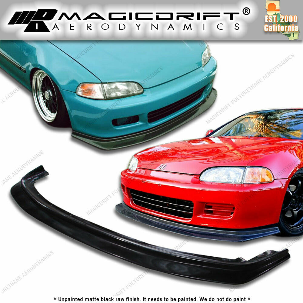 92 93 94 95 honda civic eg jdm flugel plate splitter front. Black Bedroom Furniture Sets. Home Design Ideas