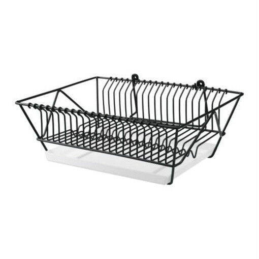 ikea dish drainer hang or stand drying rack holder fintorp. Black Bedroom Furniture Sets. Home Design Ideas