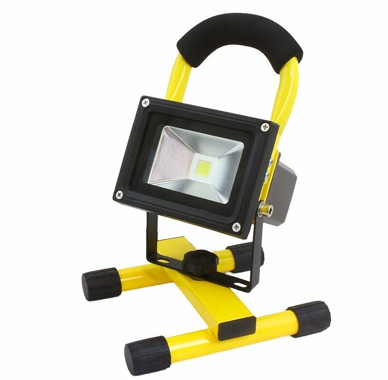 rechargeable power led cob work light stand waterproof 50. Black Bedroom Furniture Sets. Home Design Ideas