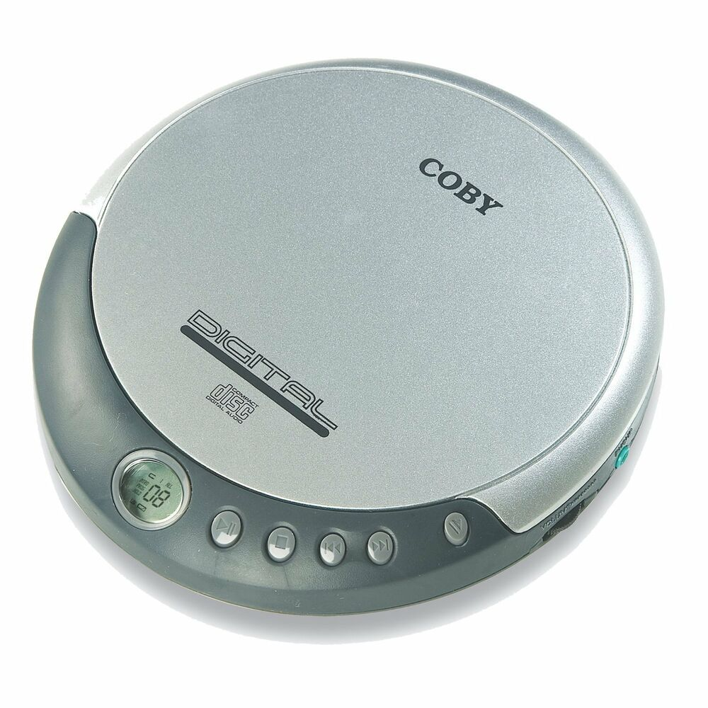 coby cx cd109 personal portable cd player w digital lcd. Black Bedroom Furniture Sets. Home Design Ideas