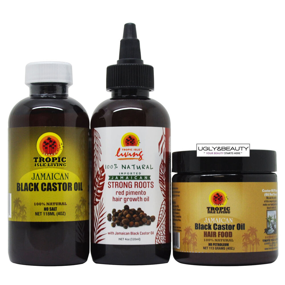 Tropic Isle Living Jamaican Black Castor Oil Strong Root