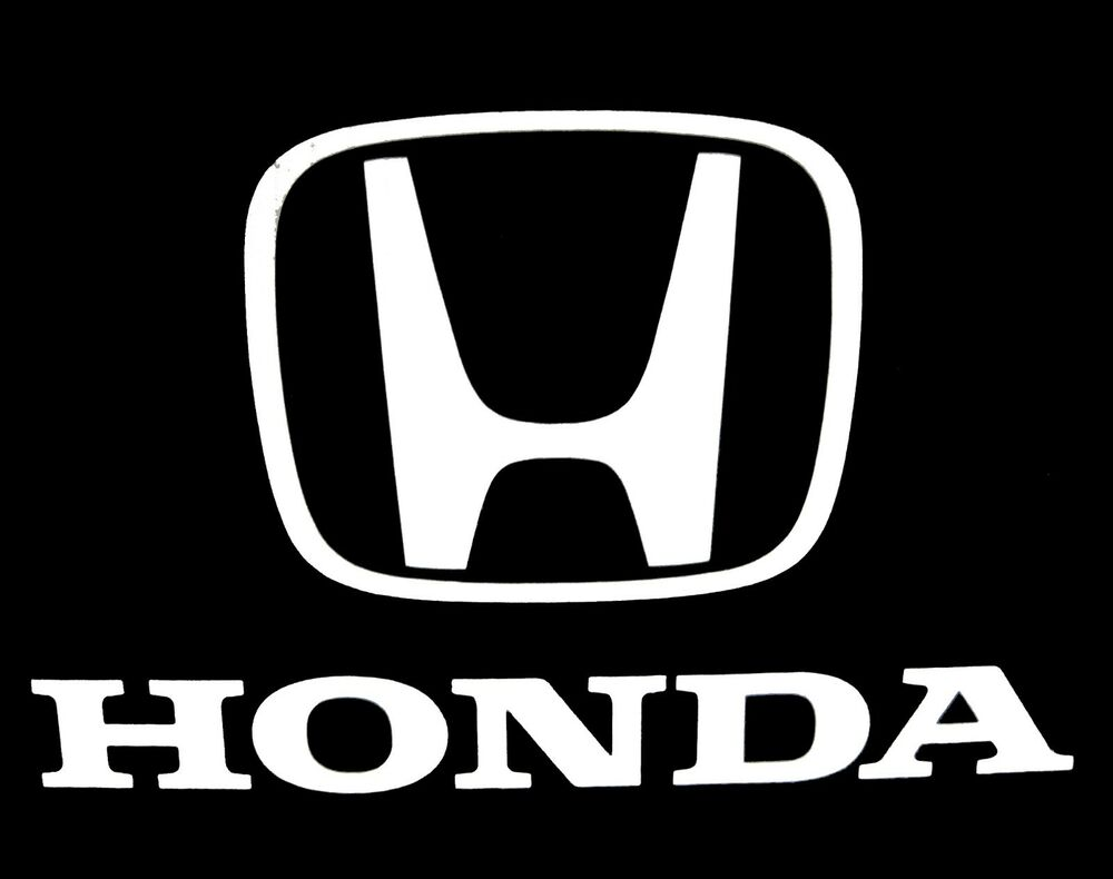 honda logo vinyl decal sticker car truck 055z ebay. Black Bedroom Furniture Sets. Home Design Ideas