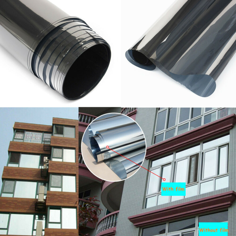 Mirror silver 20 solar reflective window film one way for Mirror 1 movie
