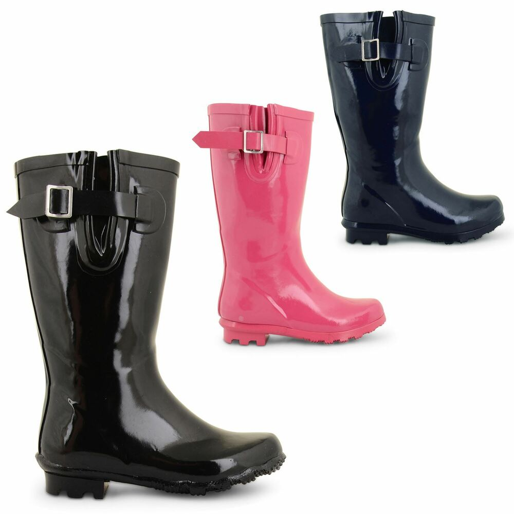 juniors mud boots mid calf wellies