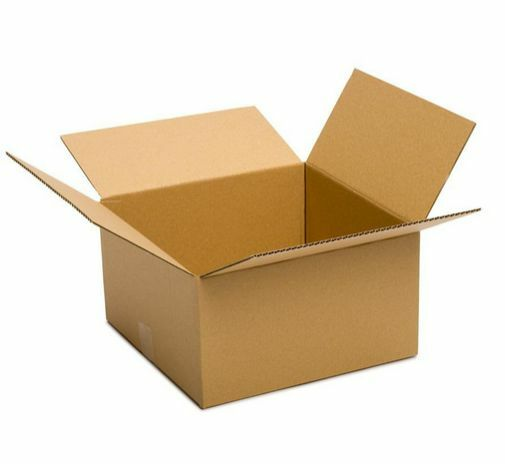 cardboard boxes w lids 14x14x6 25 pack storing moving packing shipping mailing ebay. Black Bedroom Furniture Sets. Home Design Ideas