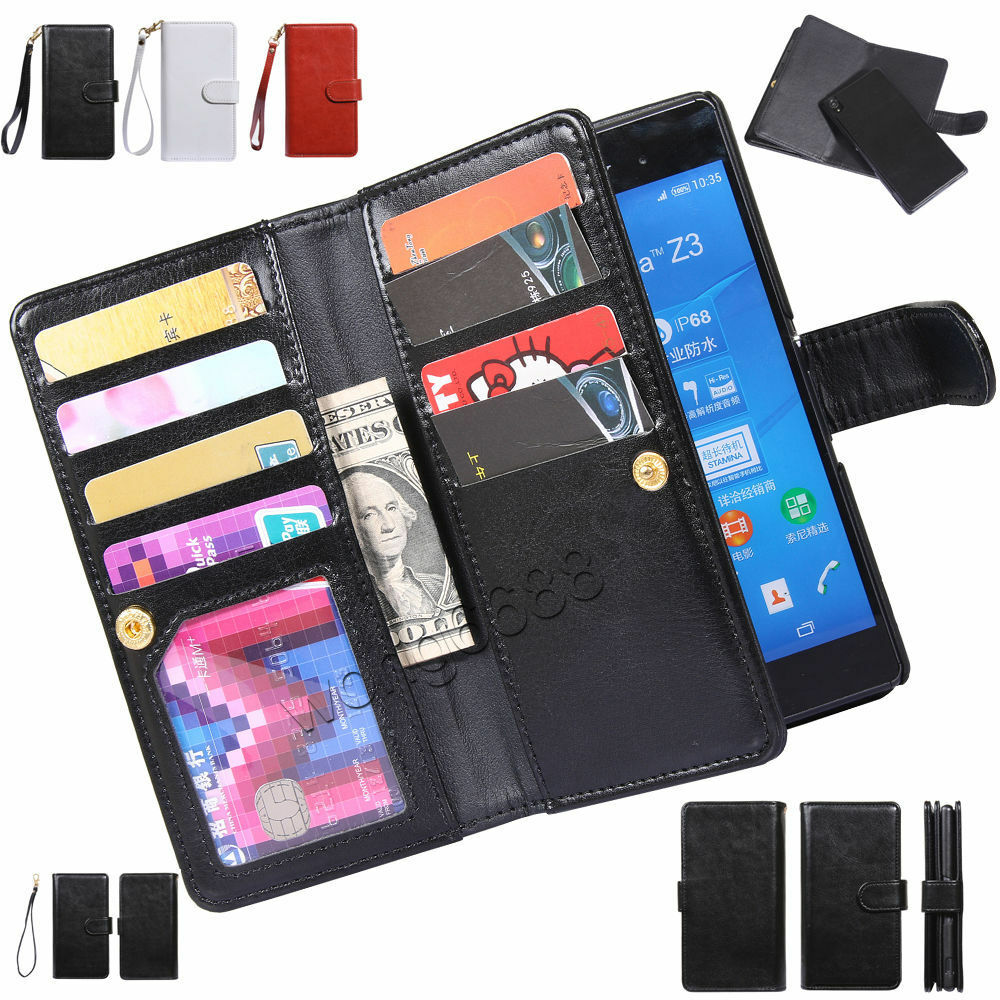 you all wallet case for sony xperia z1s even broken, unlicensed