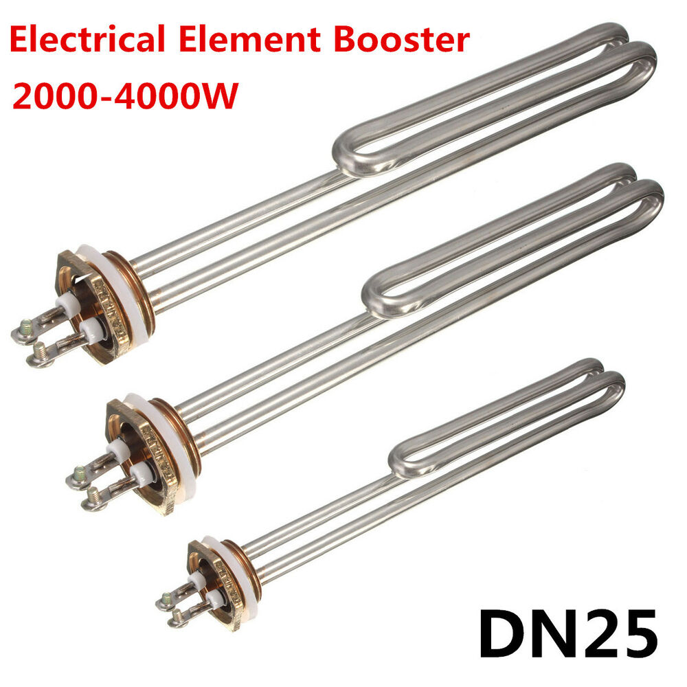 Electrical element booster stainless steel for water for Stainless steel elements