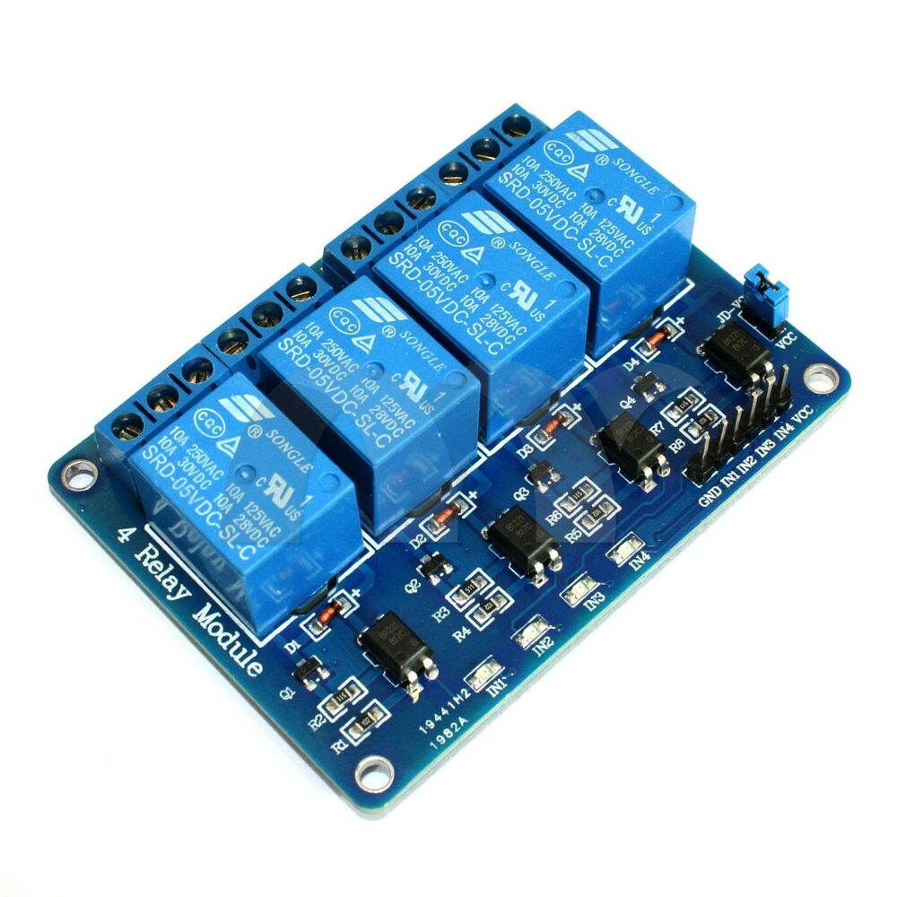 Channel v relay module with optocoupler for arduino dsp