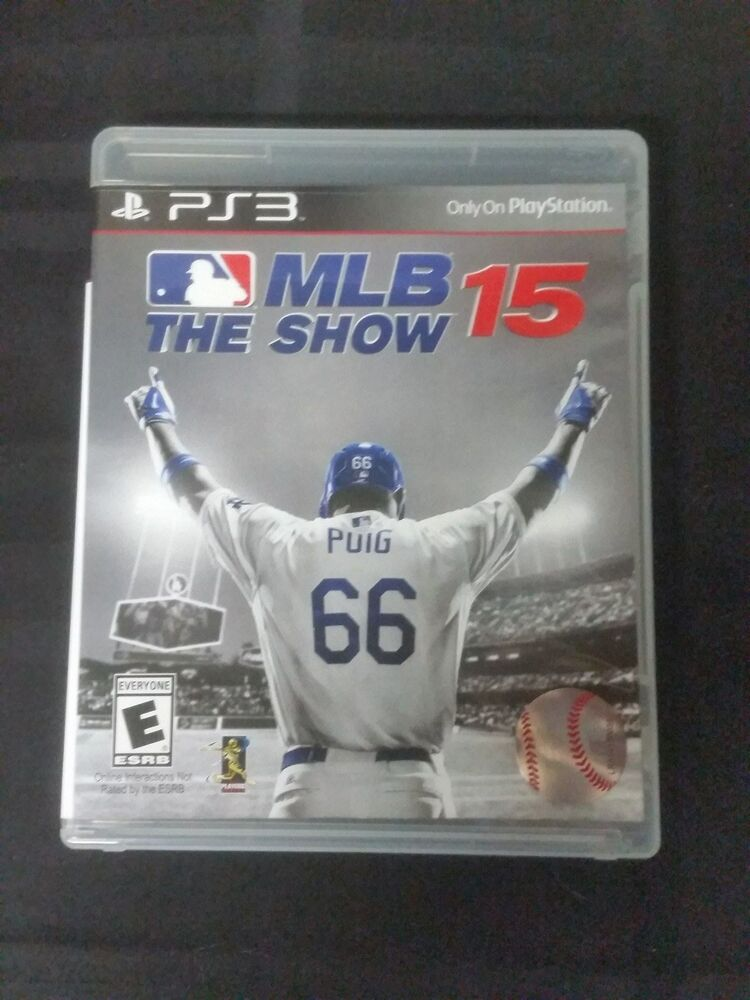 Replacement Case (NO GAME) MLB THE SHOW 15 PLAYSTATION 3 ...