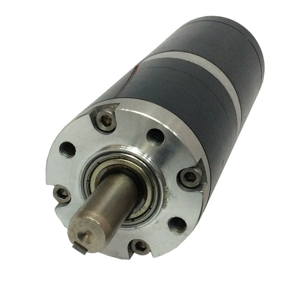 50mm Dia Low Speed 18rpm 12v Dc Planetary Gear Motor With