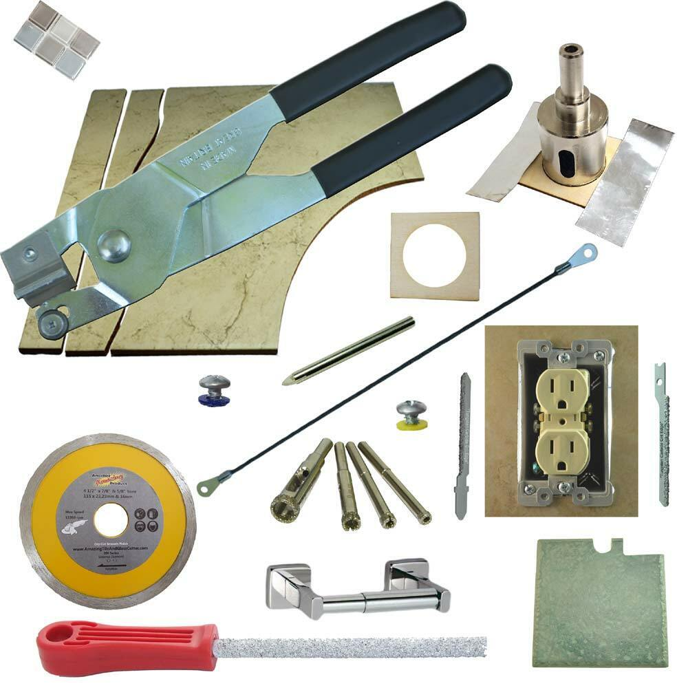 The Amazing Tile Amp Glass Cutter 11 Pc Kit Stained Glass