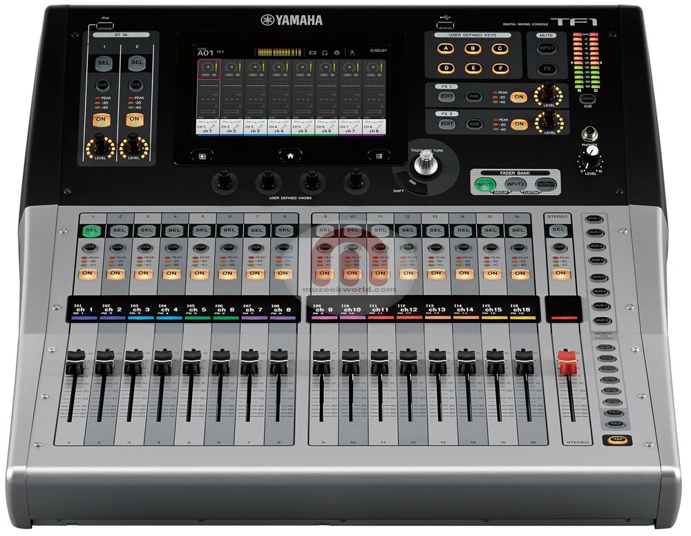 yamaha tf1 digital mixing console new ebay. Black Bedroom Furniture Sets. Home Design Ideas